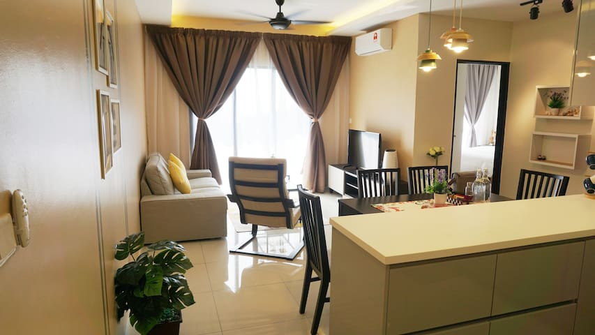 Comfy Nest 3BR 6 pax (mountain view) 温馨窝 3房6人(山景)