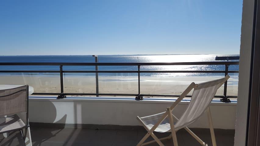 Appart face grande plage vue mer - Quiberon - Apartment