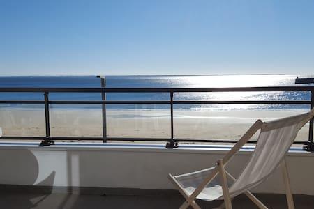 Appart face grande plage vue mer - Quiberon