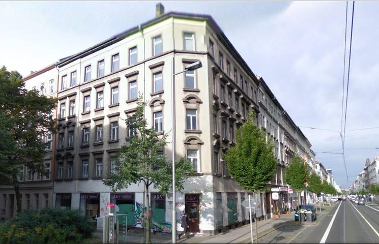 Schönes Zimmer im Leipziger Osten (Zentru(SENSITIVE CONTENTS HIDDEN)ah) - ไลพ์ซิก - อพาร์ทเมนท์