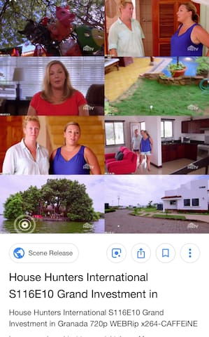 "We loved filming House Hunters International (the mullet)! Aired January 2018, Season 116 Episode 10 ""Grand Investment in Granada"""