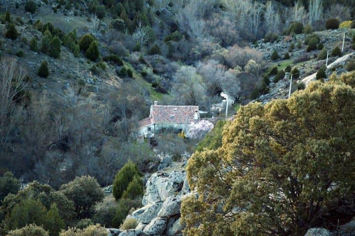 El Molino del Salado, armonía, reposo y naturaleza - Prádena - House
