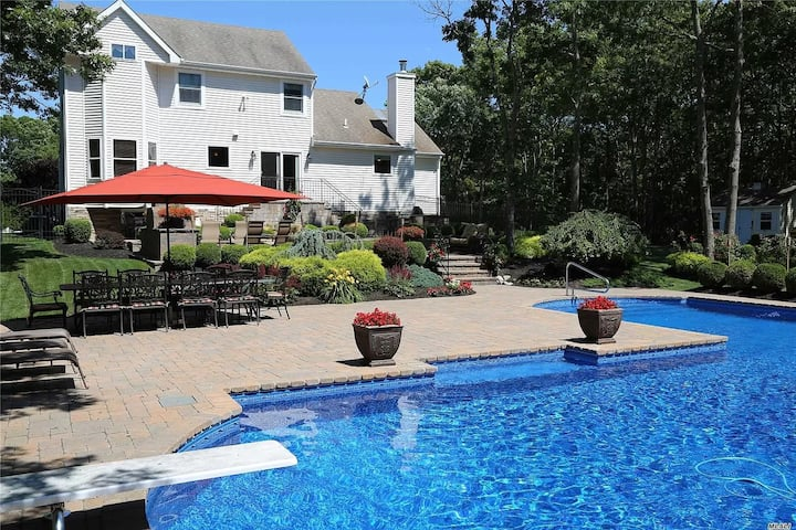 Private Summer Escape with heated pool