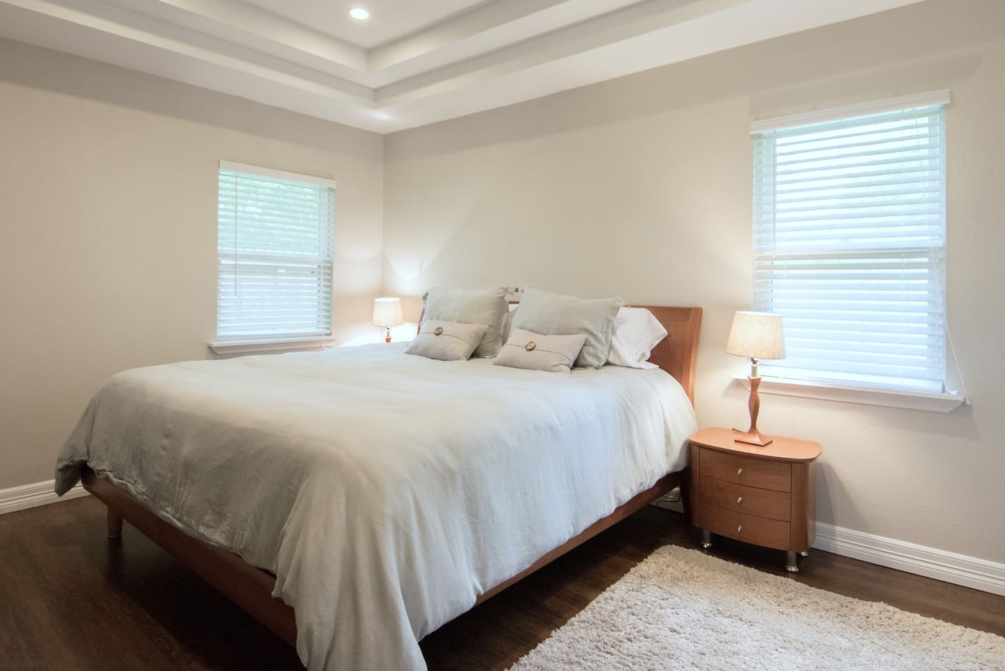 Master Bedroom with attached bathroom