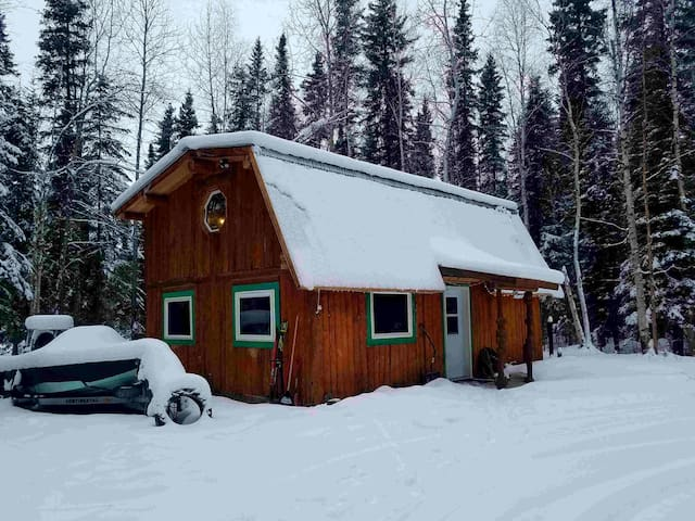Aurora Woods Cabin near Eielson AFB