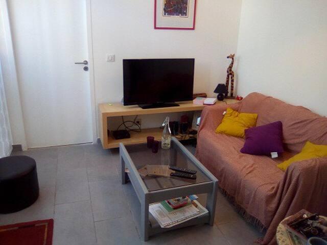 Appartement cosy et pratique entre mer et ville