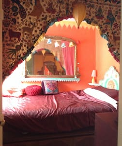 Bohemian single room - Buckfastleigh - House