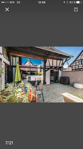 Un espace cosy dans notre grange - Illkirch-Graffenstaden - Ev