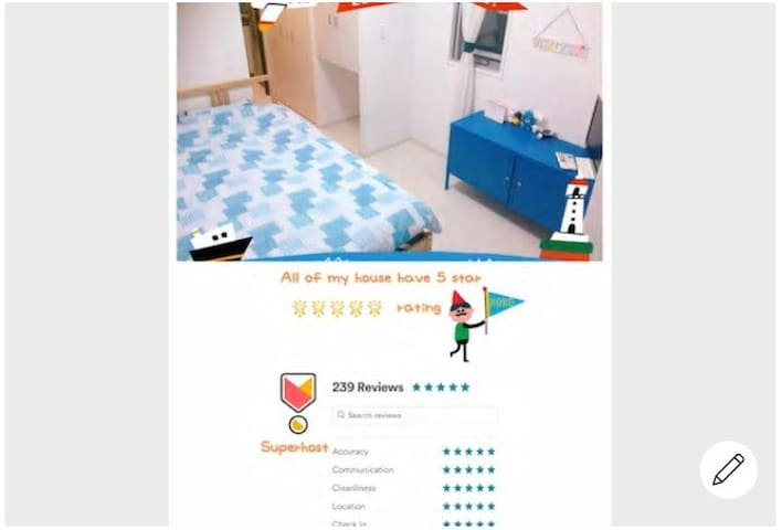Guidebook for Lovely stay yuni blue