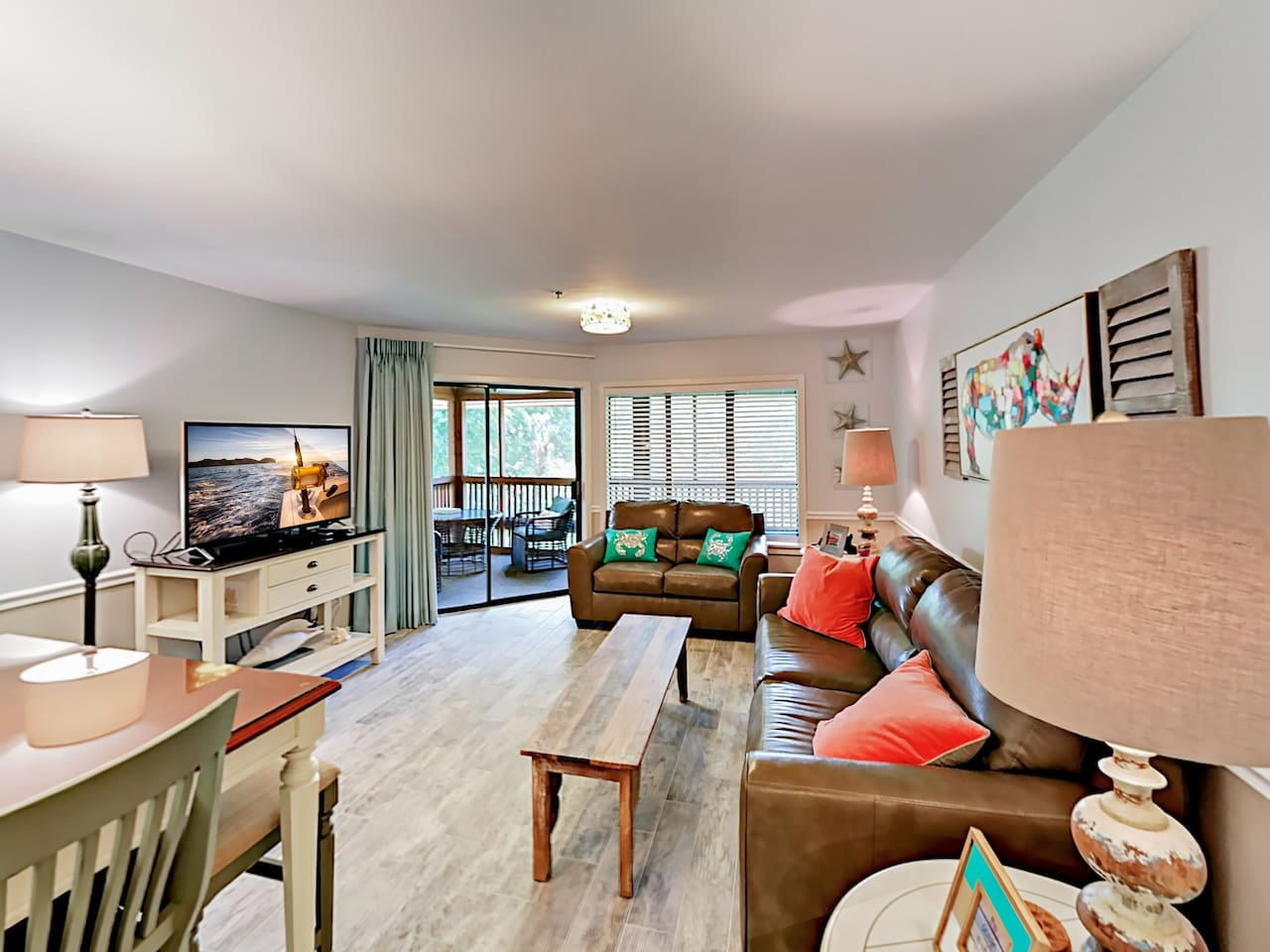 Welcome to Myrtle Beach! Your lakeside villa is professionally managed by TurnKey Vacation Rentals.