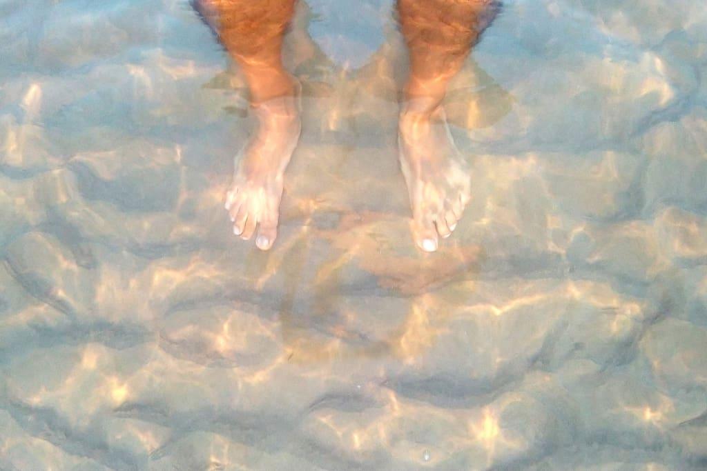 Clear water / Agua cristalina