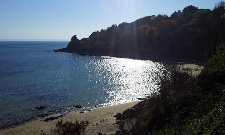 Maison vue mer imprenable et bord de plage