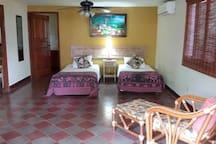 2nd bedroom - twin beds