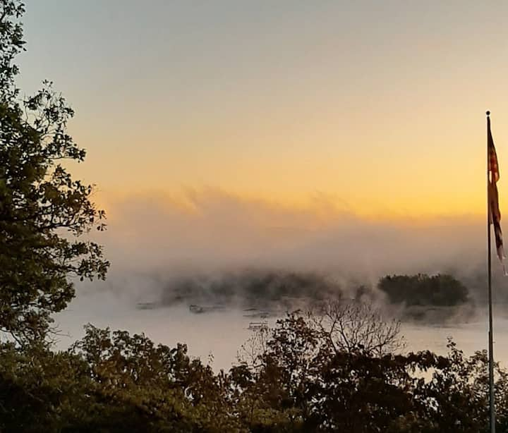 #1 Sunrise view of Bull Shoals Lake just updated