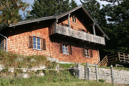 Holzhaus mit Traumpanorama - Gemeinde Adnet - Apartament