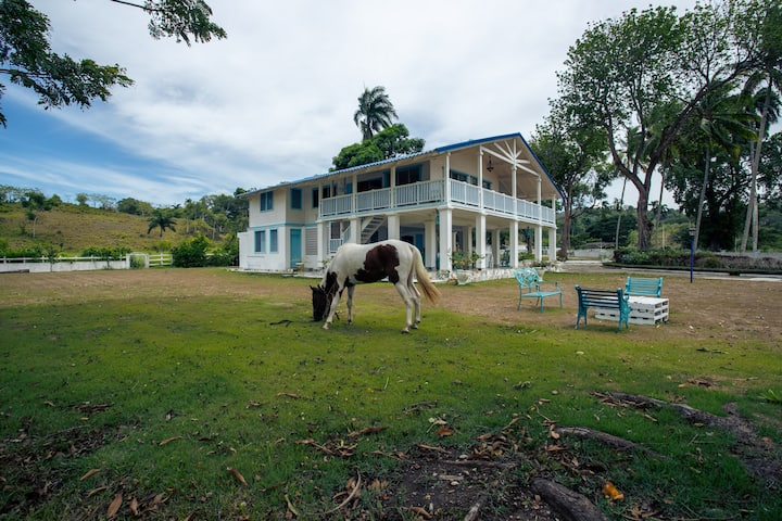 Beautiful Village with pool and horses pto Plata