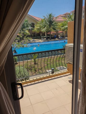 Amenity view fully furnished unit
