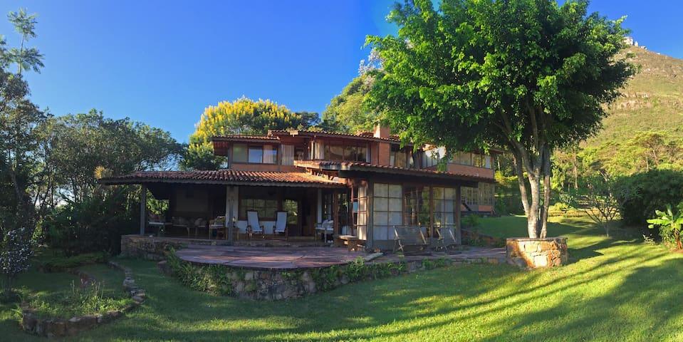 Casa Linda - Conforto, charme - Vale do Capão, BA