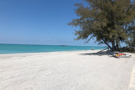 Paradise! No Corona! Private Beach access.