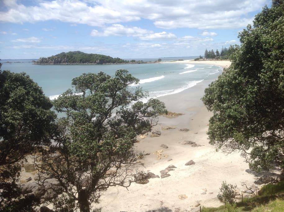 Beautiful Mount Maunganui Beach