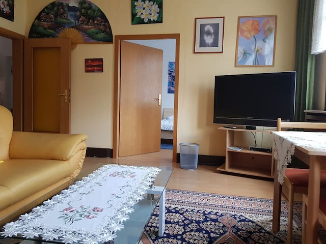 Vacation Apartment 1 with Rhine view, 2 People 50€