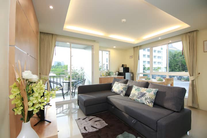 1 BR Family Room on Nopparat Thara Beach