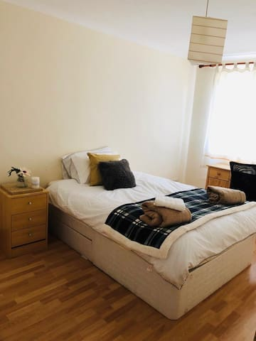 Cosy Room off priory lane 2 pers max