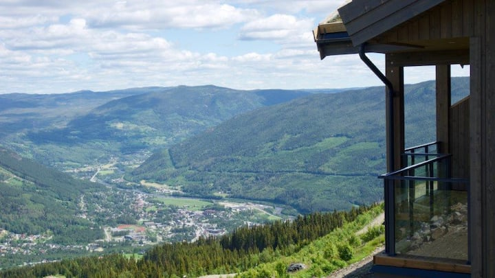 Skagahøgdi  -the most spectacular view in Gol!