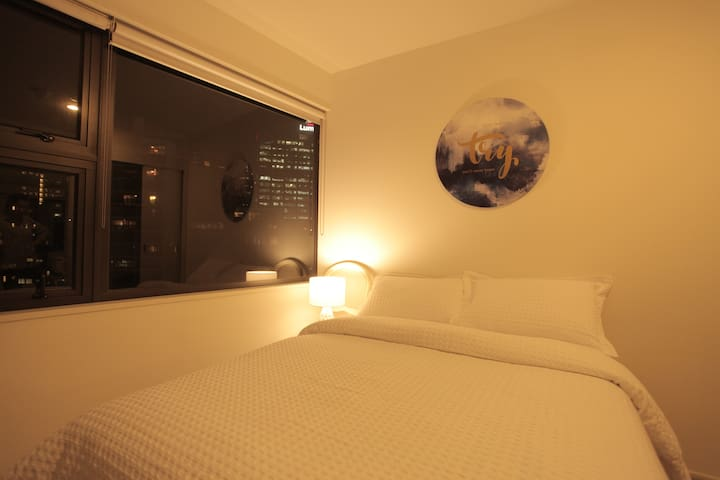 Sea n CIty View bedroom2 *Free Parking* *Downtown* - Auckland - Huoneisto