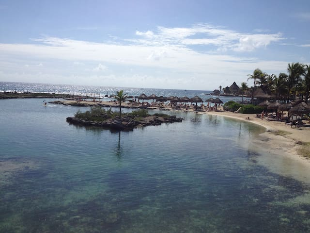 Apartment a few steps from the sea. - Puerto Aventuras