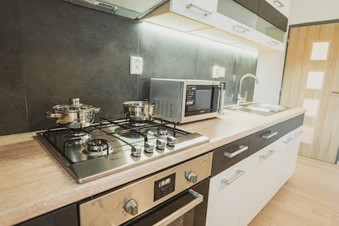 PRIVATE SPACIOUS MODERN APARTMENT, FREE PARKING