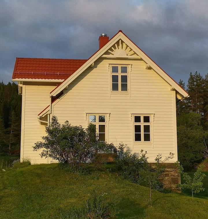 Nyrenovert tømmerhus