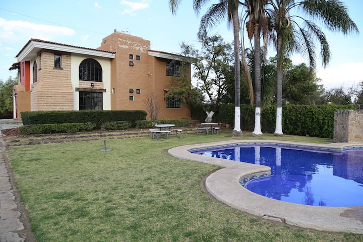 Country house with pool at 30min. from Guadalajara - Huertas del Zamorano - Natuur/eco-lodge