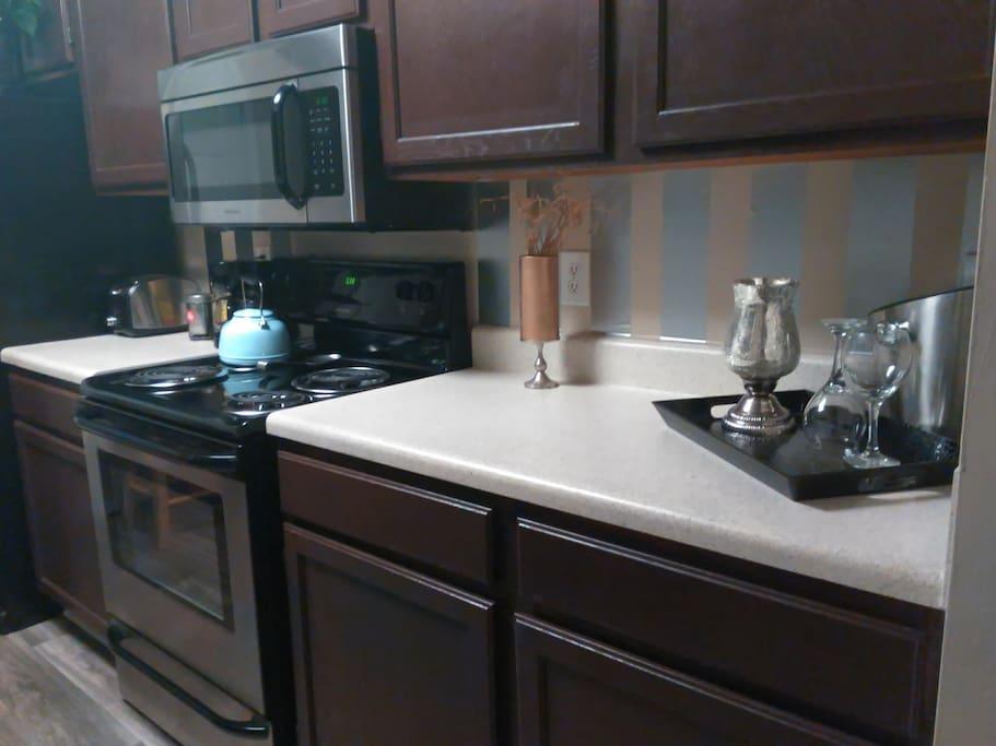 Full access of kitchen