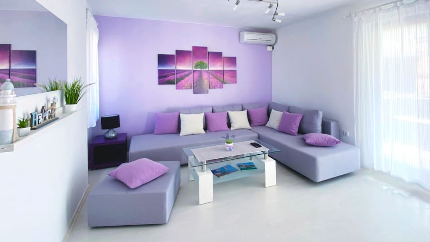 Apartman Purple - Gajac, Zrce beach, Novalja, Pag