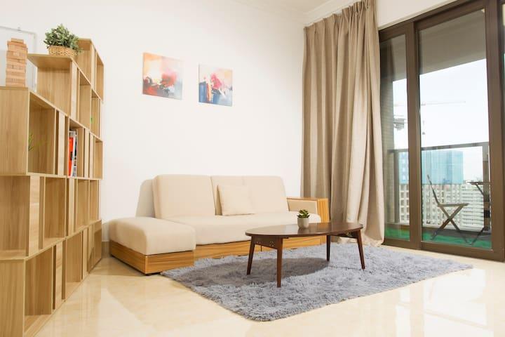 商遇WorkingLiving 5至7人多功能商務公寓16 {南山科技园店} - Shenzhen - Apartment