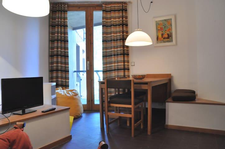 Acogedor apartamento con parking a pie de pistas