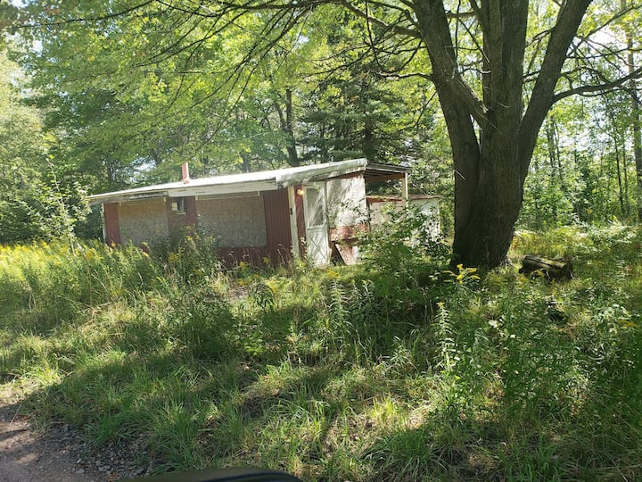 Primitive camping/ headquarters outdoor activities
