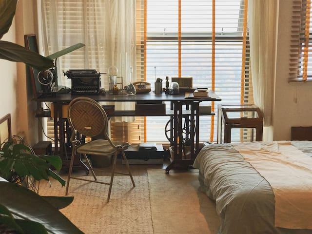 【拾古&Vintage style 】美式office   裁缝铺小屋文艺田园  近南京站 玄武湖