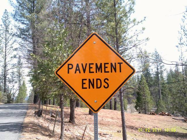 """Where the Pavement Ends"" Manzanita site"