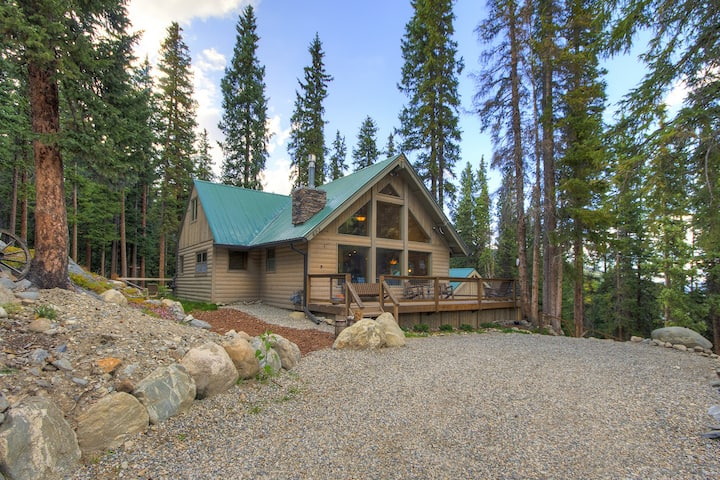 FREE SkyCard Activities - Large Deck, Forest Views, Gas Fireplace - Black Bear Chalet