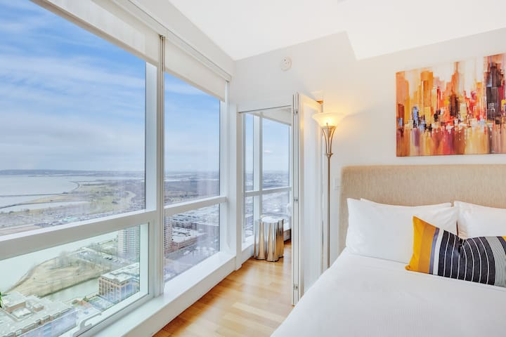 Dharma | Jersey City | Private 1BR + City Views