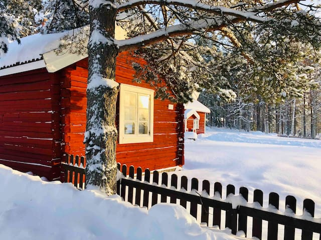 "Simple Cabin ""Torp"" near National Park with Sauna"