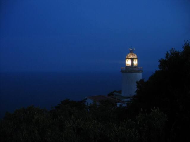 Far de Sant Sebastià :  Llafranc.