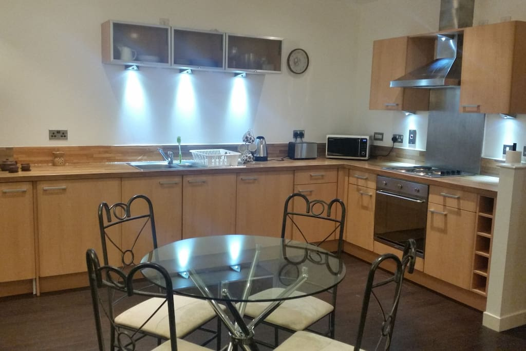 Fully functioned kitchen