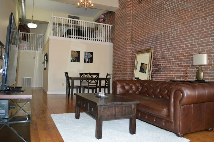Big luxury loft in heart of downcity arts district - Providence