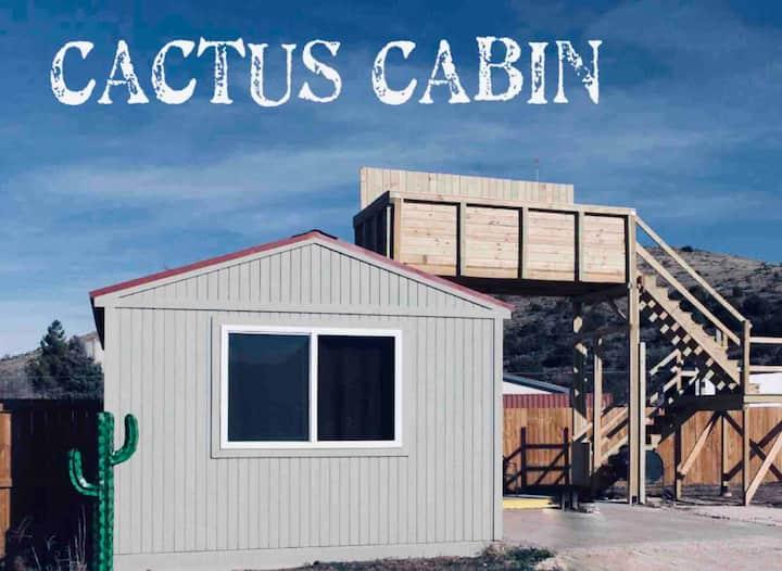 Cactus Cabin w/Star Gazing  Deck