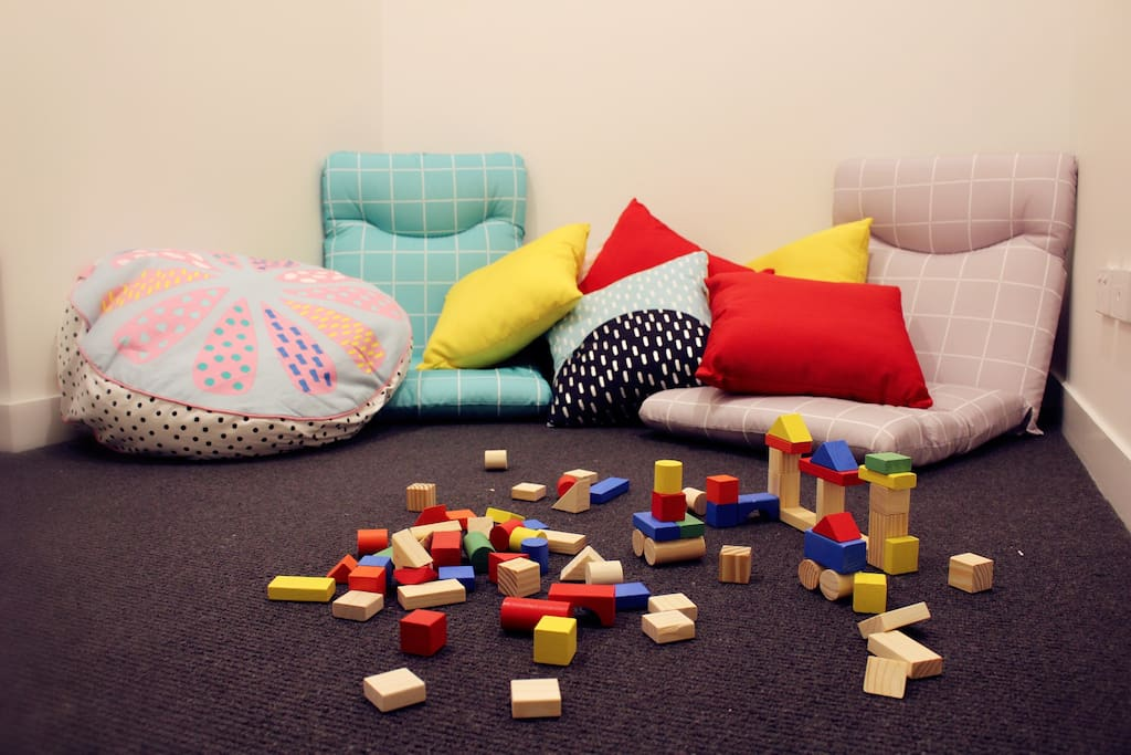 Play Room for Kids or Single Bed for Adults