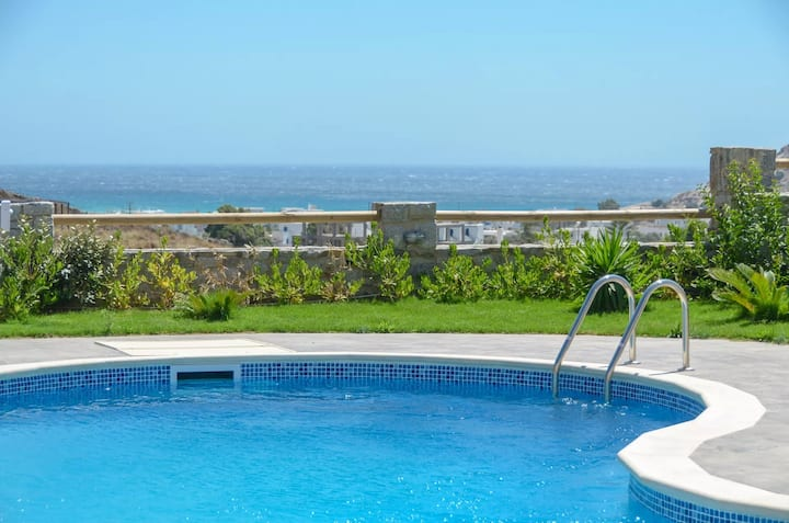 GRNLNAX401-Sea View Villa with Private Pool