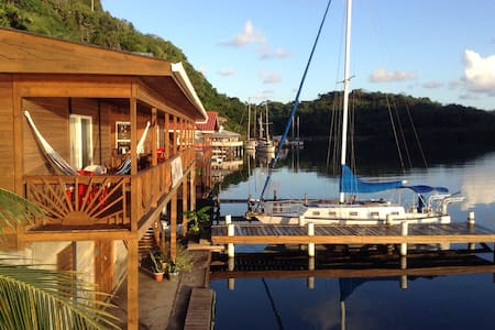 Waterfront, B&B, Bouganvillia room - Jonesville - Wikt i opierunek